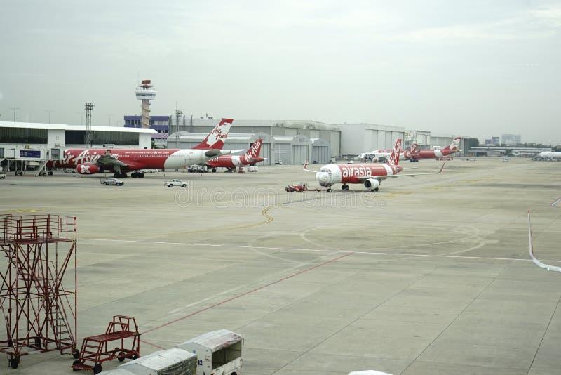 Аэропорт Дон Meung в Бангкоке, Таиланде стоковое изображение