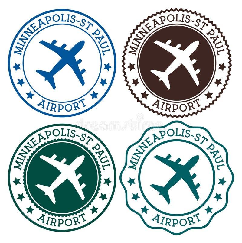 Аэропорт Миннеаполис-St Пол бесплатная иллюстрация
