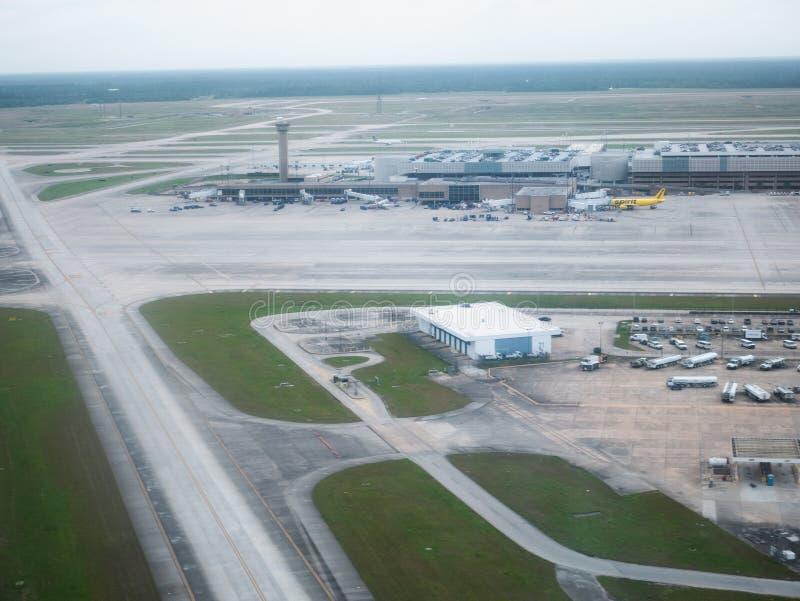 Аэропорт Хьюстон стоковые изображения rf