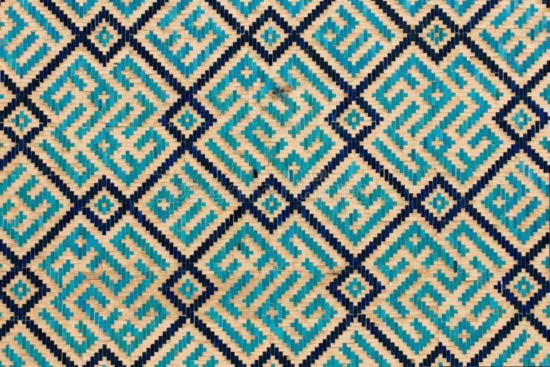 Ая черепицей предпосылка, востоковедные орнаменты от Uzbekist стоковая фотография rf