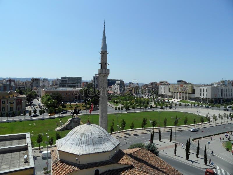 Албания tirana стоковое изображение rf