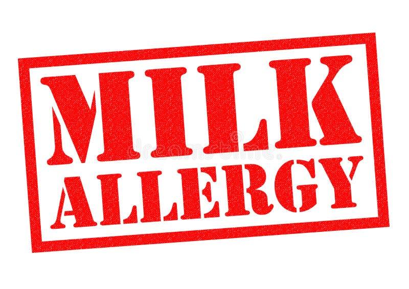 Аллергия молока бесплатная иллюстрация