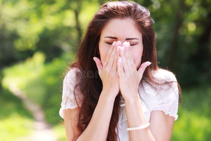 Аллергия цветня стоковые изображения