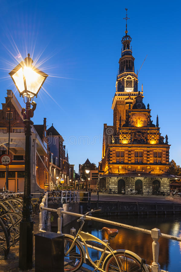 Алкмар Нидерланды стоковая фотография