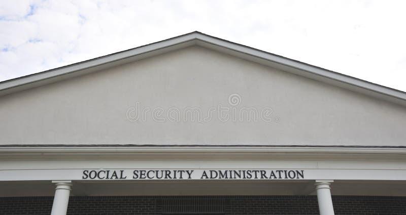 Административное здание социального обеспечения стоковые фото