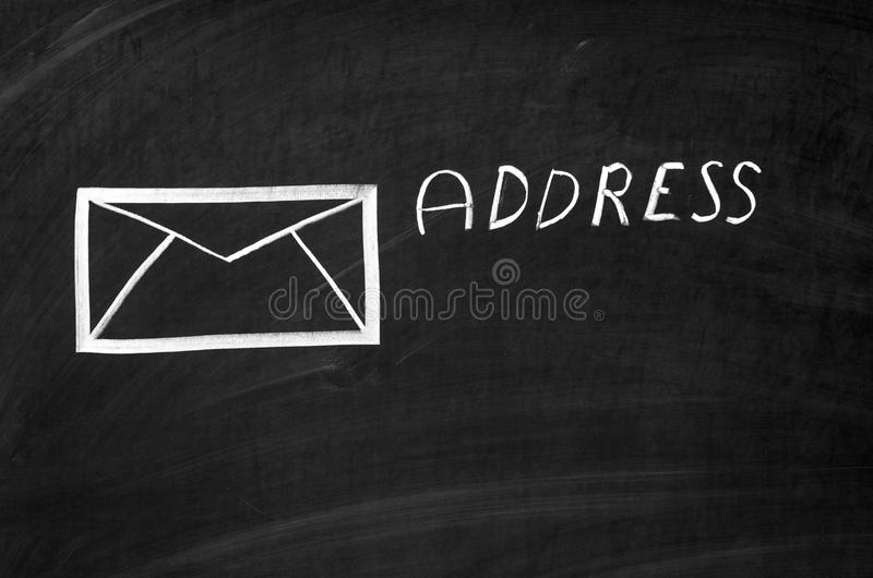 адресы стоковое изображение