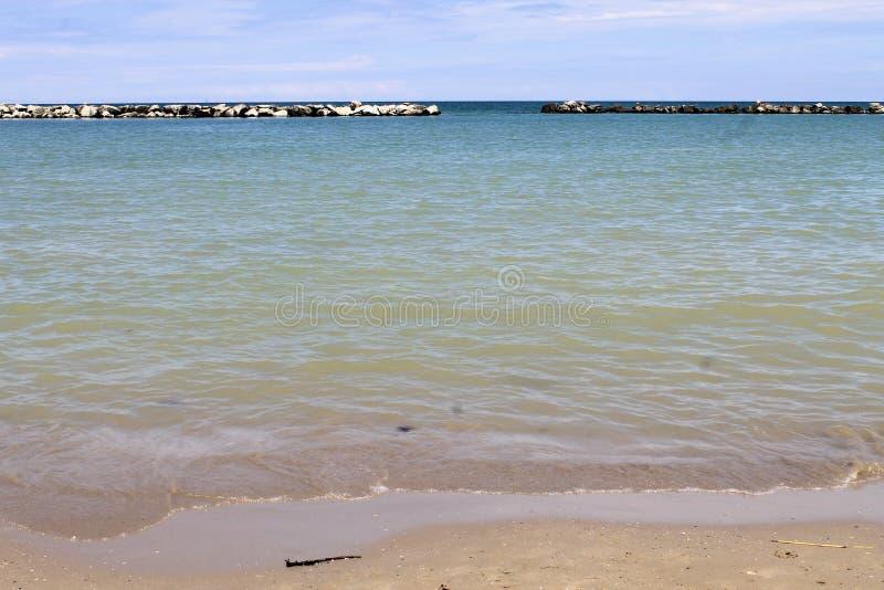 адриатическое море стоковая фотография