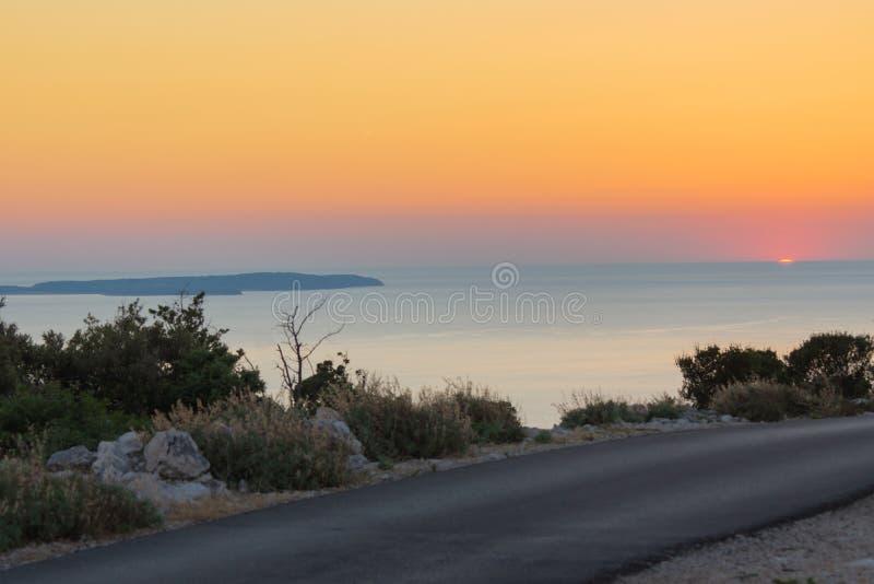 адриатическое море стоковое изображение rf