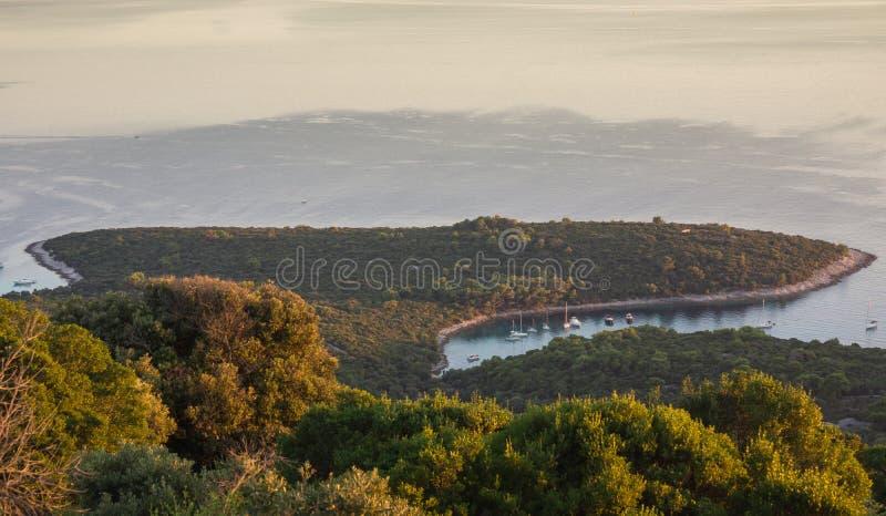 адриатическое море стоковая фотография rf