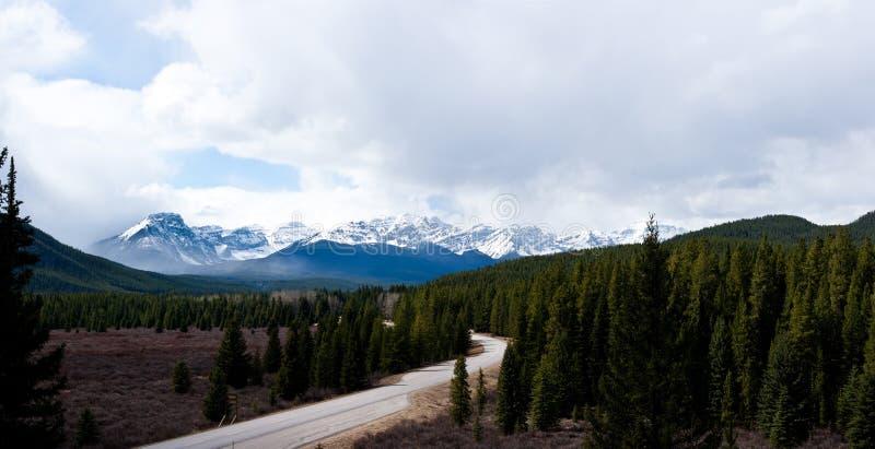 Альберта панорамная стоковое фото