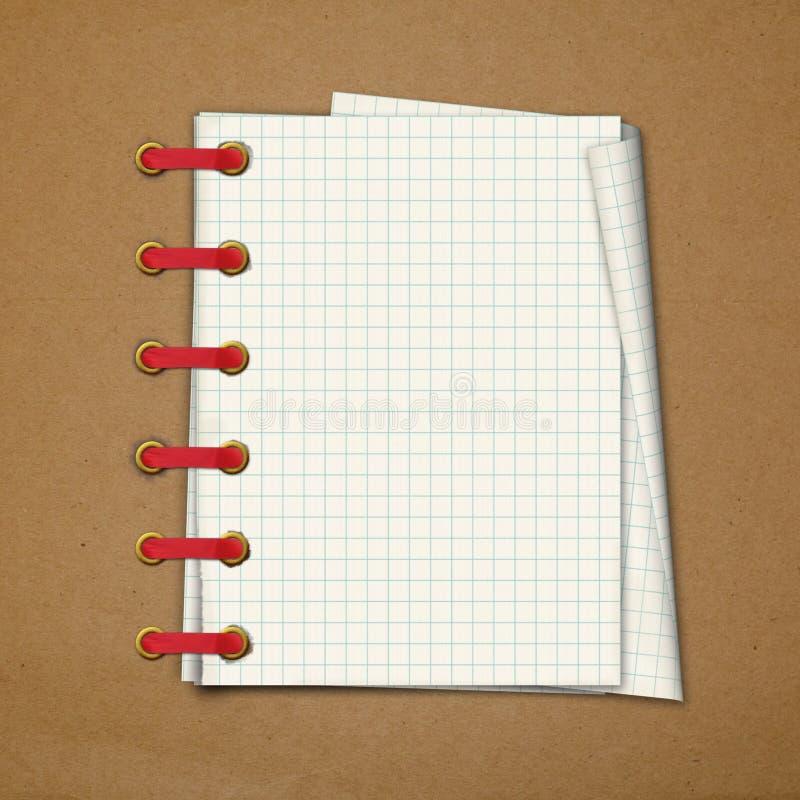 Альбом отчуженный Grunge в scrapbooking стиле бесплатная иллюстрация