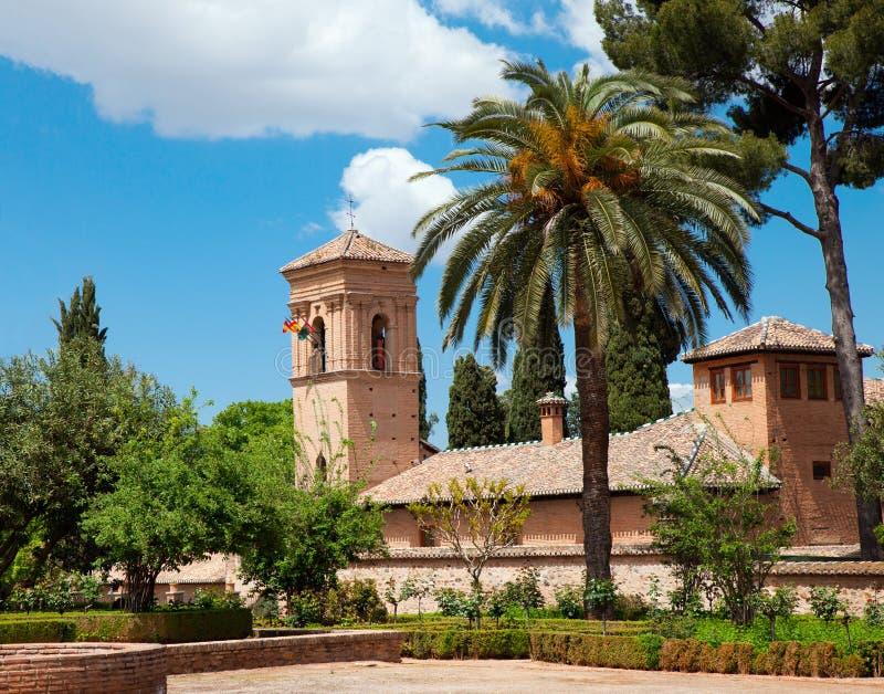 Альгамбра стоковая фотография