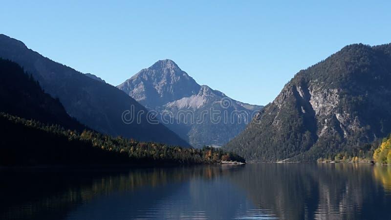 Альпы весной стоковое фото