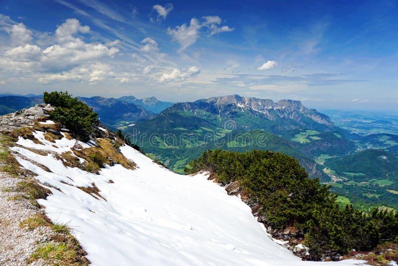 Альпы в Баварии стоковое изображение rf