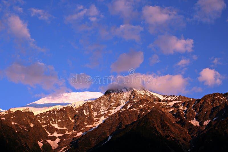 Альпы, Шамони стоковые изображения rf