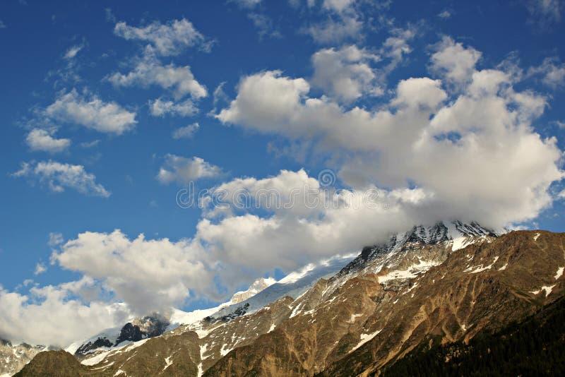 Альпы, Шамони стоковое фото rf