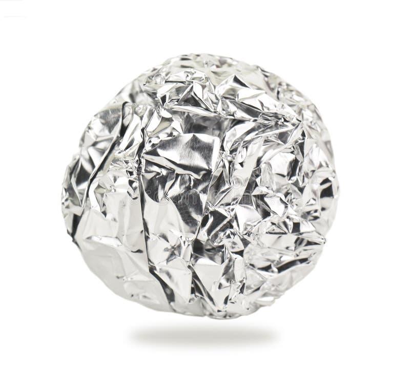Алюминиевый шарик стоковое изображение rf