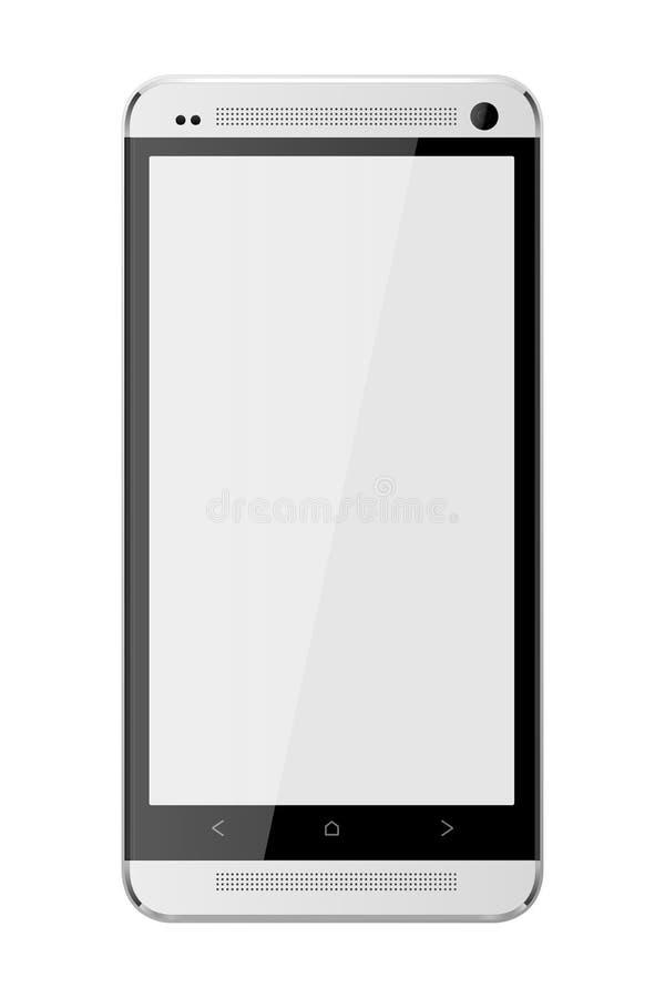 Алюминий сотового телефона иллюстрация штока