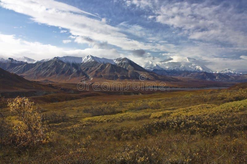 Аляска в осени стоковое изображение rf