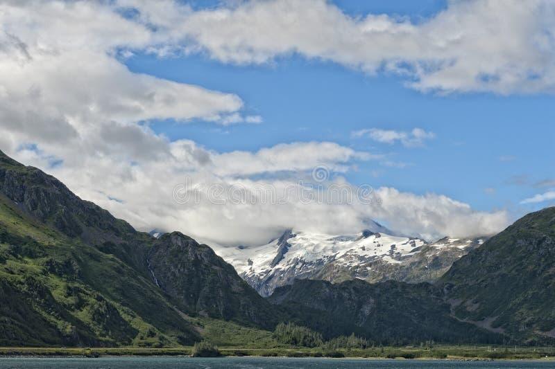 Аляска Prince William Sound стоковое изображение