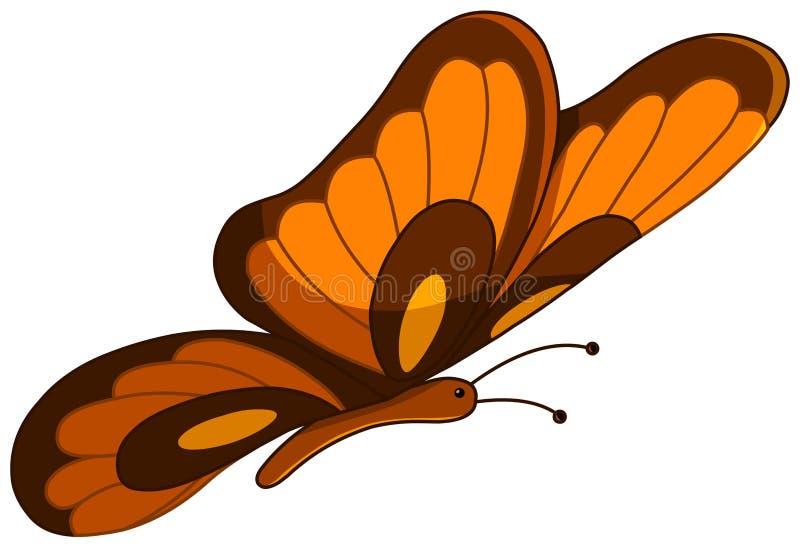 Бабочка вектора иллюстрация вектора