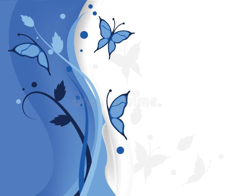 бабочки сини предпосылки бесплатная иллюстрация