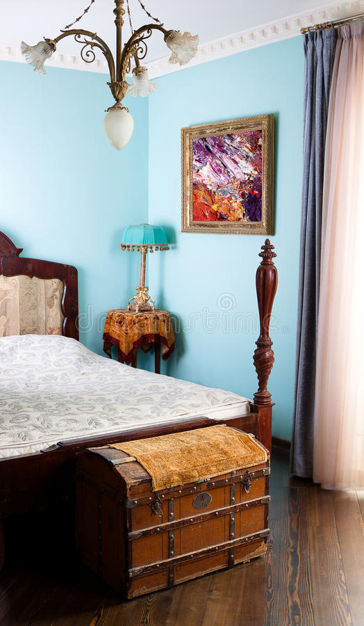 бабушка s спальни стоковая фотография rf
