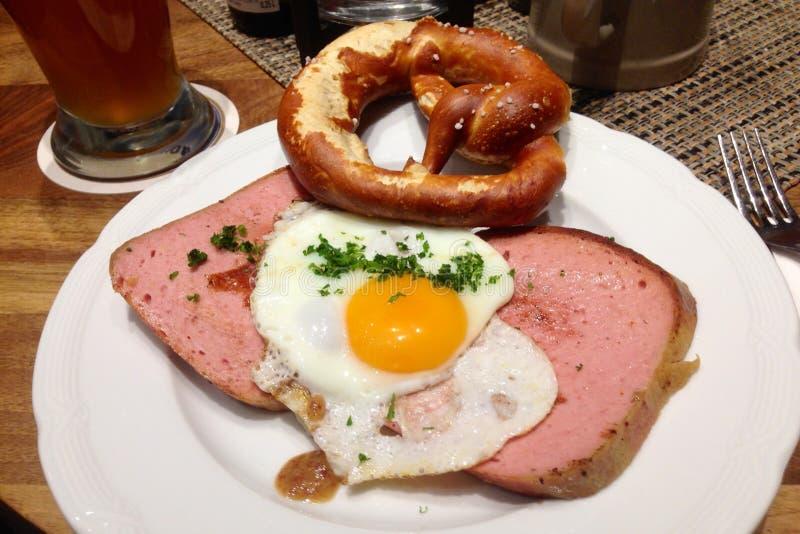 Баварский обед стоковые изображения rf