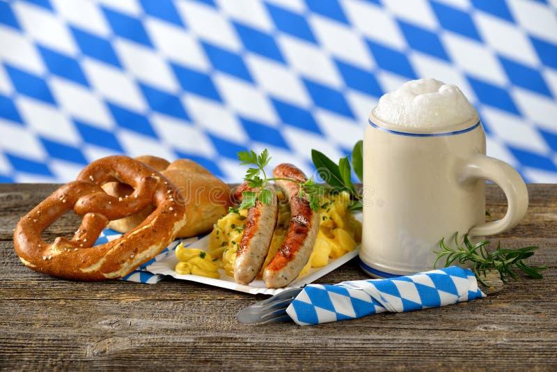 Баварский обед стоковые изображения