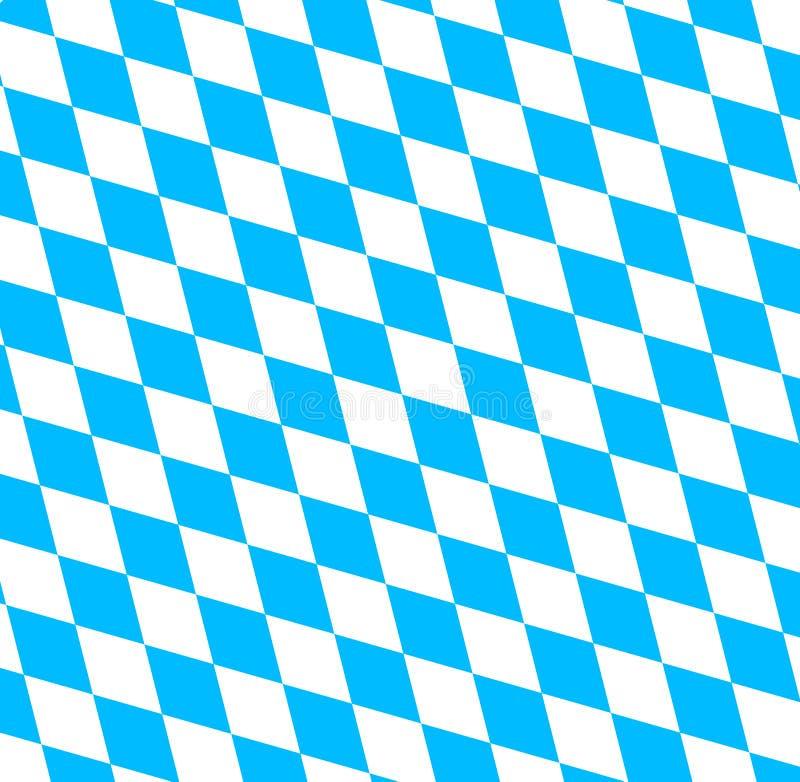 Баварский символ флага Oktoberfest бесплатная иллюстрация