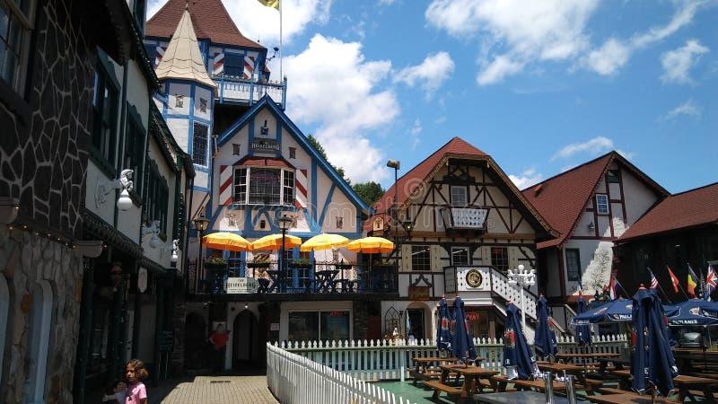 Баварский тематический городок Хелена Georgia стоковое фото