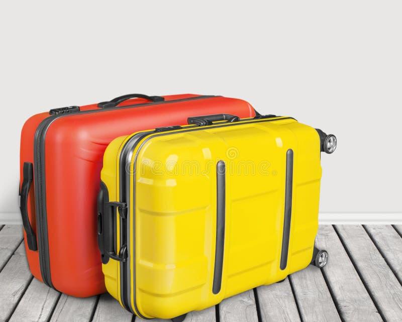 Багаж чемодана стоковое фото rf