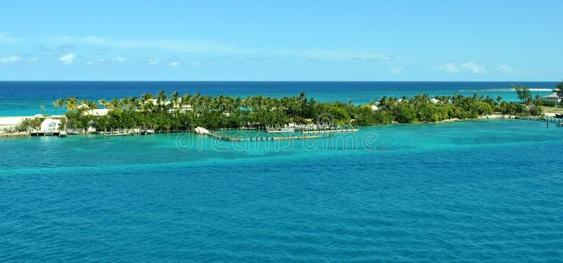 Багамы Waterscape стоковая фотография rf