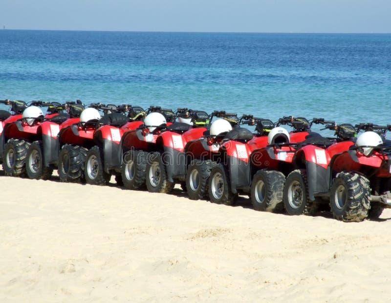 багги пляжа стоковые изображения rf