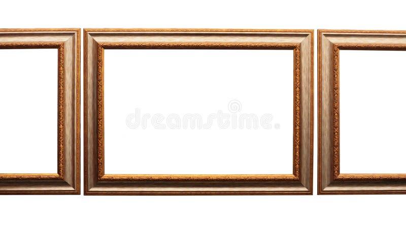 багет обрамляет белизну изображения стоковая фотография rf