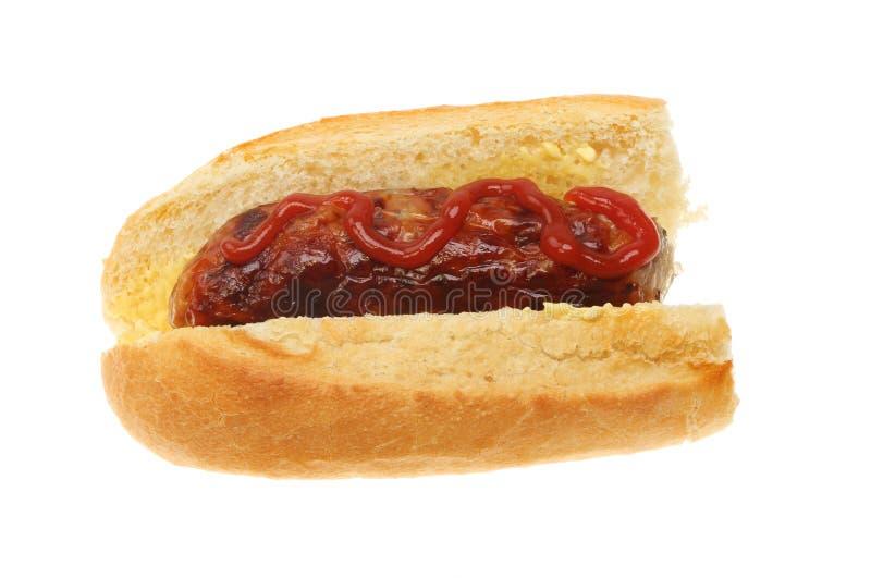 Багет сосиски стоковые изображения