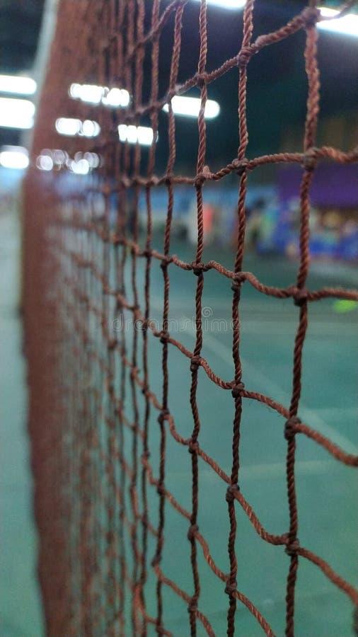 Бадминтон спорта чистый стоковые фото