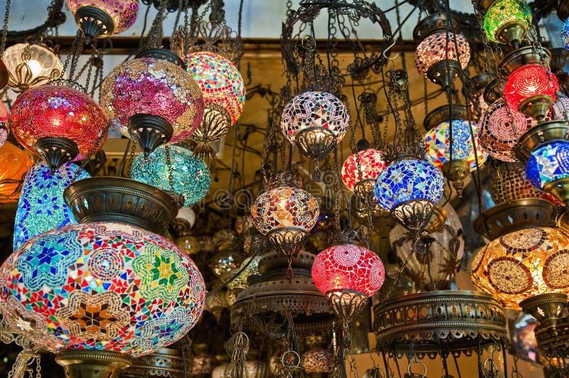 базар грандиозный istanbul стоковые фотографии rf