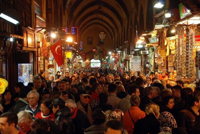 Базар специи в Стамбуле стоковые изображения rf