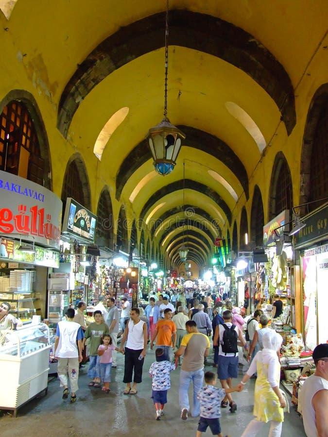 Базар Стамбул специи стоковая фотография rf