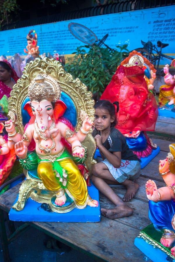 Базар Ganesh стоковое изображение rf