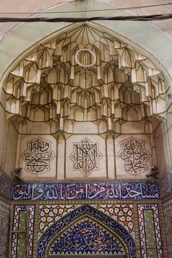 Базар Isfahan, Иран стоковая фотография rf