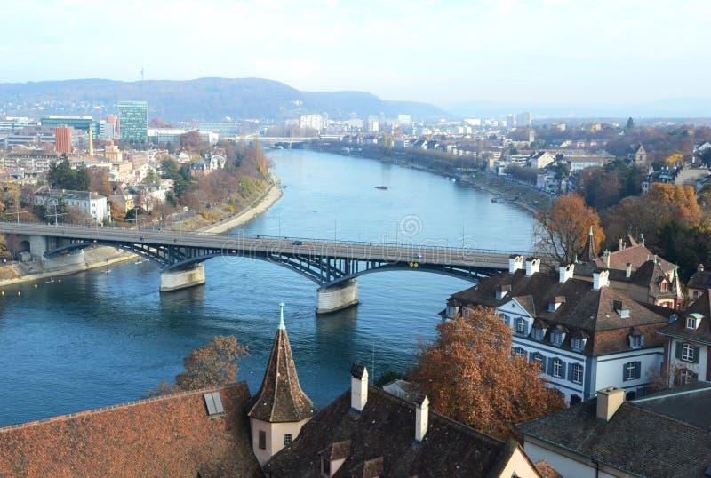 Базель, Швейцария стоковое изображение rf