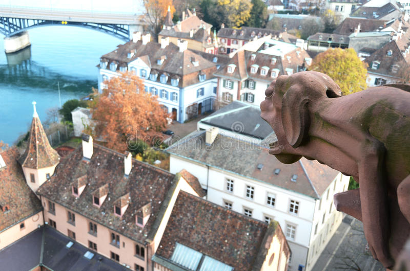 Базель, Швейцария стоковые фотографии rf