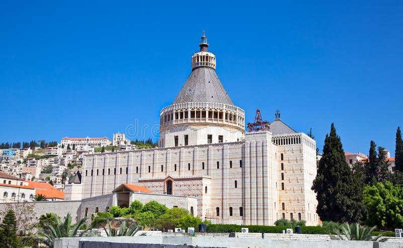 Базилика аннунциации, Нацерет, Израиль стоковое изображение