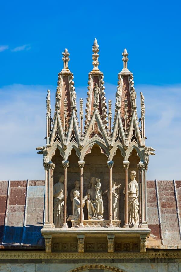 Базилика в Пизе Италии стоковая фотография