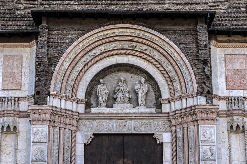 Базилика Святого Petronius в болонья стоковое фото