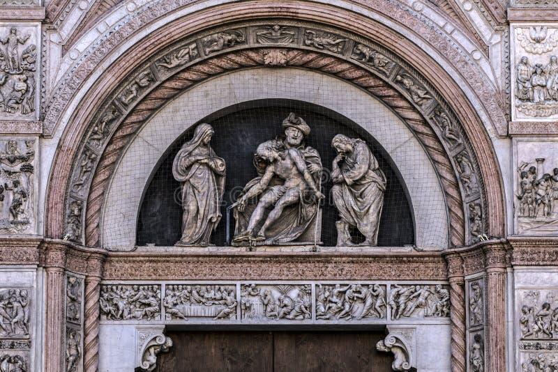 Базилика Святого Petronius в болонья стоковые изображения