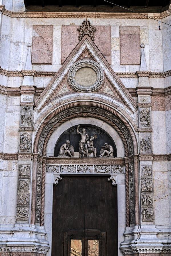 Базилика Святого Petronius в болонья стоковые фотографии rf