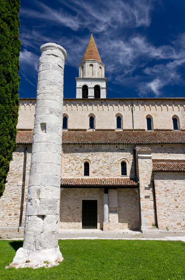 Базилика Aquileia стоковое фото